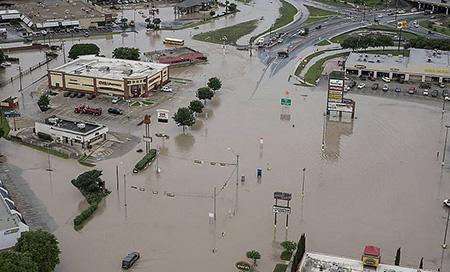 Inundação no Texas