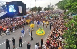 Encontro do Samba por Drone